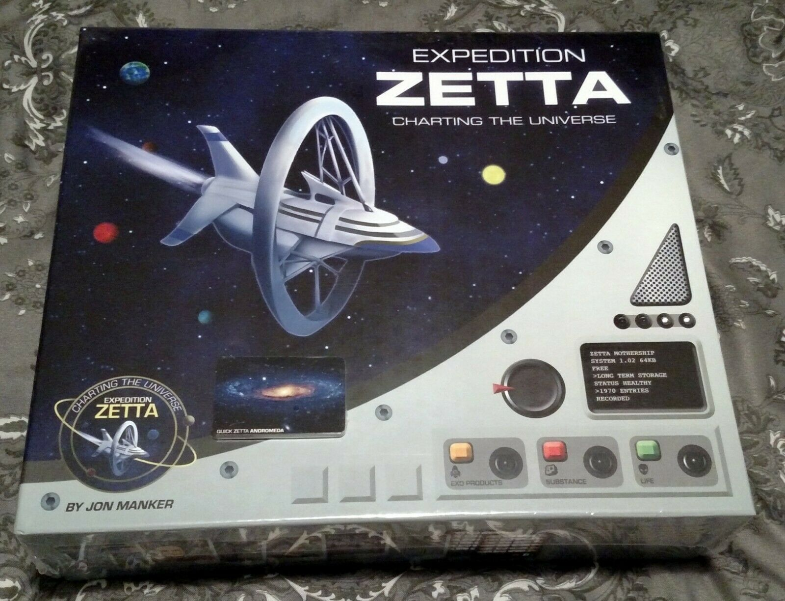 EXPEDITION Zetta Board Game + Andromède Mini EXPANSION Neuf Scellé