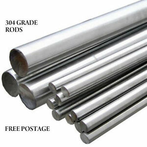 STAINLESS STEEL 316 GRADE BARS FREE PP RODS SHAFTS BRACKETS HANDRAILS 6MM 20MM
