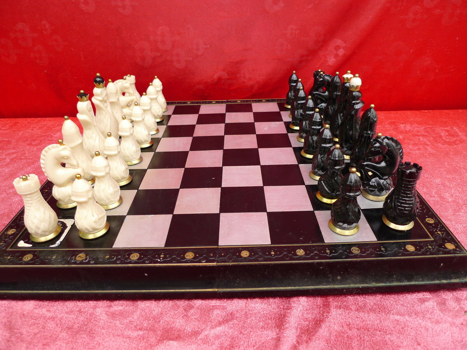 Pretty, Old Chess Game ____