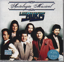 NEW - Antologia Musical Los Bukis 3 CD's + 1 DVD 600753323632