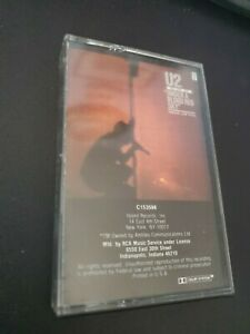 U2 cassette tapes Under a Blood Red Sky, The Joshua Tree, The Unforgettable Fire