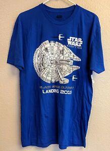 Disney-Parks-Galaxys-Edge-Star-Wars-Black-Spire-Outpost-2019-Mens-T-Shirt-Large