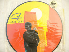 """GILLAN 7"""" RESTLESS / ON THE ROCKS 7"""" PICTURE DISC....... 45rpm"""