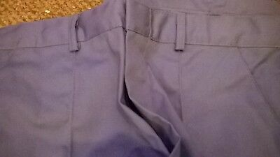 mens green work hospital vet ambulance NHS NEW trousers TR270 sewn in crease