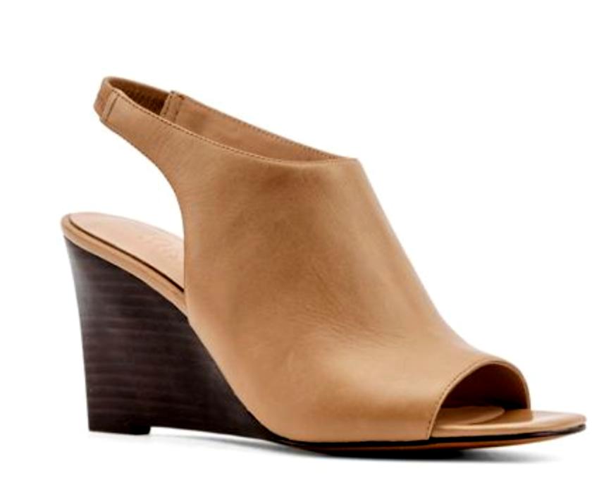 Jones Bootmaker EU Juniper Womens UK 3 EU Bootmaker 36 Beige Leather Wedge Heel New Sandals 4b0f08
