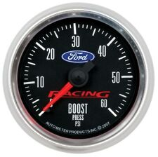 Auto Meter 880106 Gauge Boost 2 116 60psi Mechanical For Ford Racing New