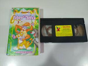 Los-Cachorros-del-Libro-de-la-Selva-Walt-Disney-VHS-Cinta-Tape-Espanol