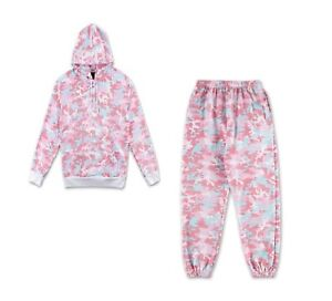 where to buy cheap for sale reasonably priced Details about Original Kylie Jenner Camo Candy SWEATPANTS & HOODIE Designed  In Calabasas SZ S