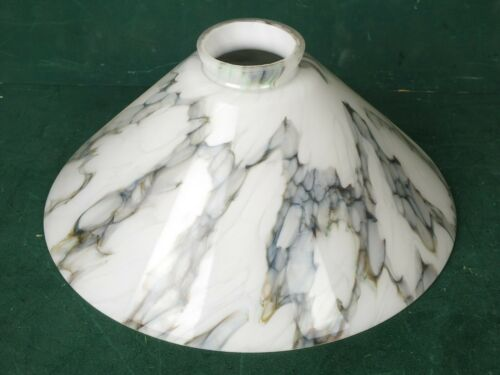 Großer Lampenschirm Marmoriert Glasschirm 25 cm für viele Stand oder Hängelampen