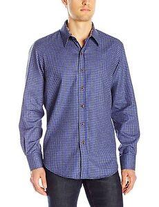 en 889066315149 Graham clásico de Murano de con Robert manga azul pata corte larga Camisa gallo de Mediana 4YgFq