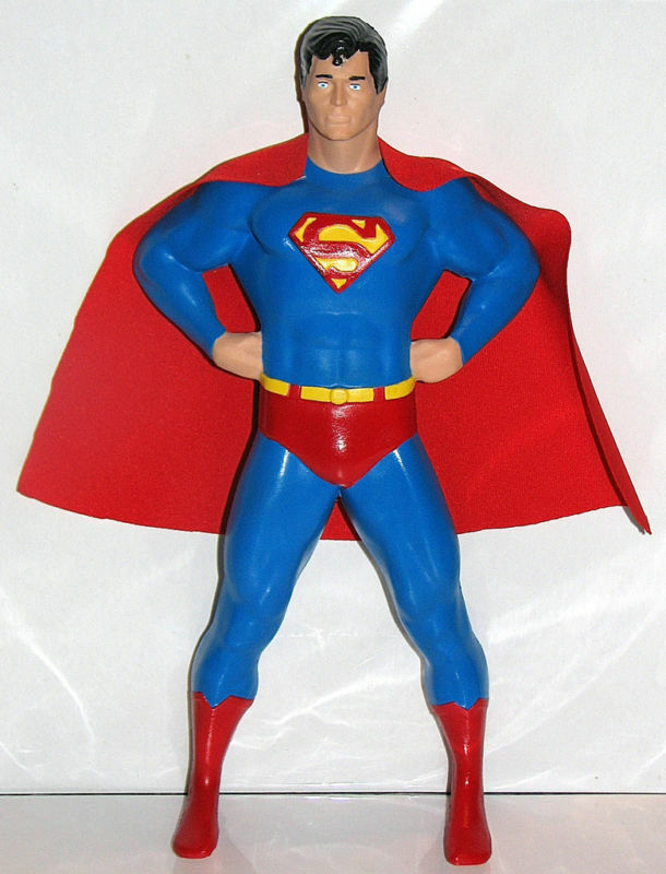 PredOTYPE SUPERMAN FIGURE for SUPERMAN TELEPHONE MINT