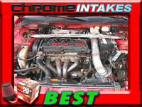 K&n+black Red 95-99 Mitsubishi Eclipse/eagle Talon 2.0l Non-turbo Air Intake Kit