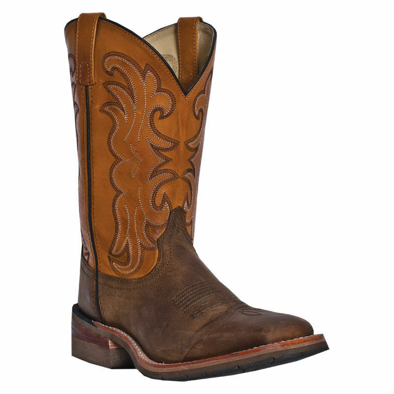 MEN'S DAN POST FERRIER SQUARE TOE WESTERN BOOTS DP69831 NIB