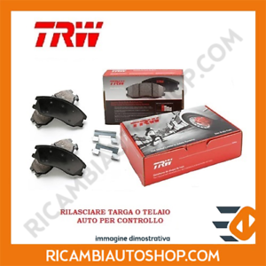KIT PASTIGLIE FRENO POSTERIORE TRW DODGE NITRO 3.7 V6 4WD KW:151 2007/>2012 GDB41