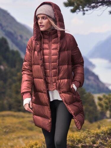 LN Athleta Lofty Down Coat, Maple Red SIZE M