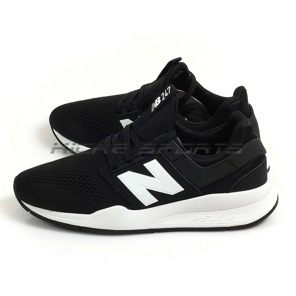 New Balance MS247EB D Black & White Classic Lifestyle Fashion Sneakers 2018 NB