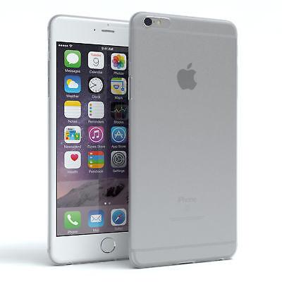Schutz Hülle für Apple iPhone 6 / 6S Plus Cover Handy Case Matt Transparent
