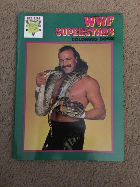 - Vintage 1991 Hulkster Coloring Book WWF Hulk Hogan Terry Bollea Kids  Wrestling For Sale Online EBay