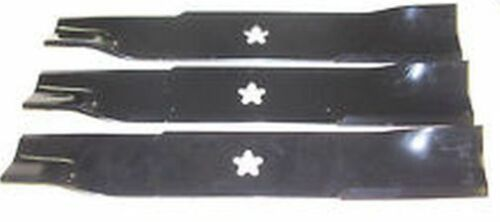 "Husqvarna Kees Yazoo 48/""Mower Blade set of 3 539113425 539-113425"