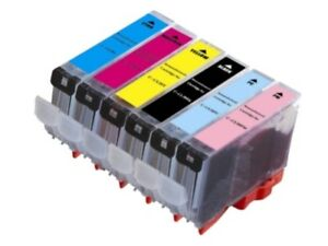 6-PK-NON-OEM-INK-CARTRIDGE-CLI-8-FOR-CANON-PIXMA-MP950-MP960-MP970-IP6700D