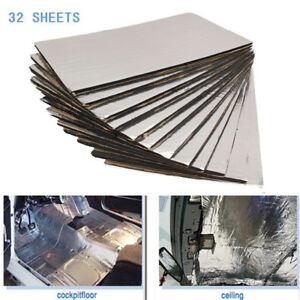 32piece-Sound-Noise-Deadener-Car-Heat-Shield-Insulation-Deadening-Material-Mat