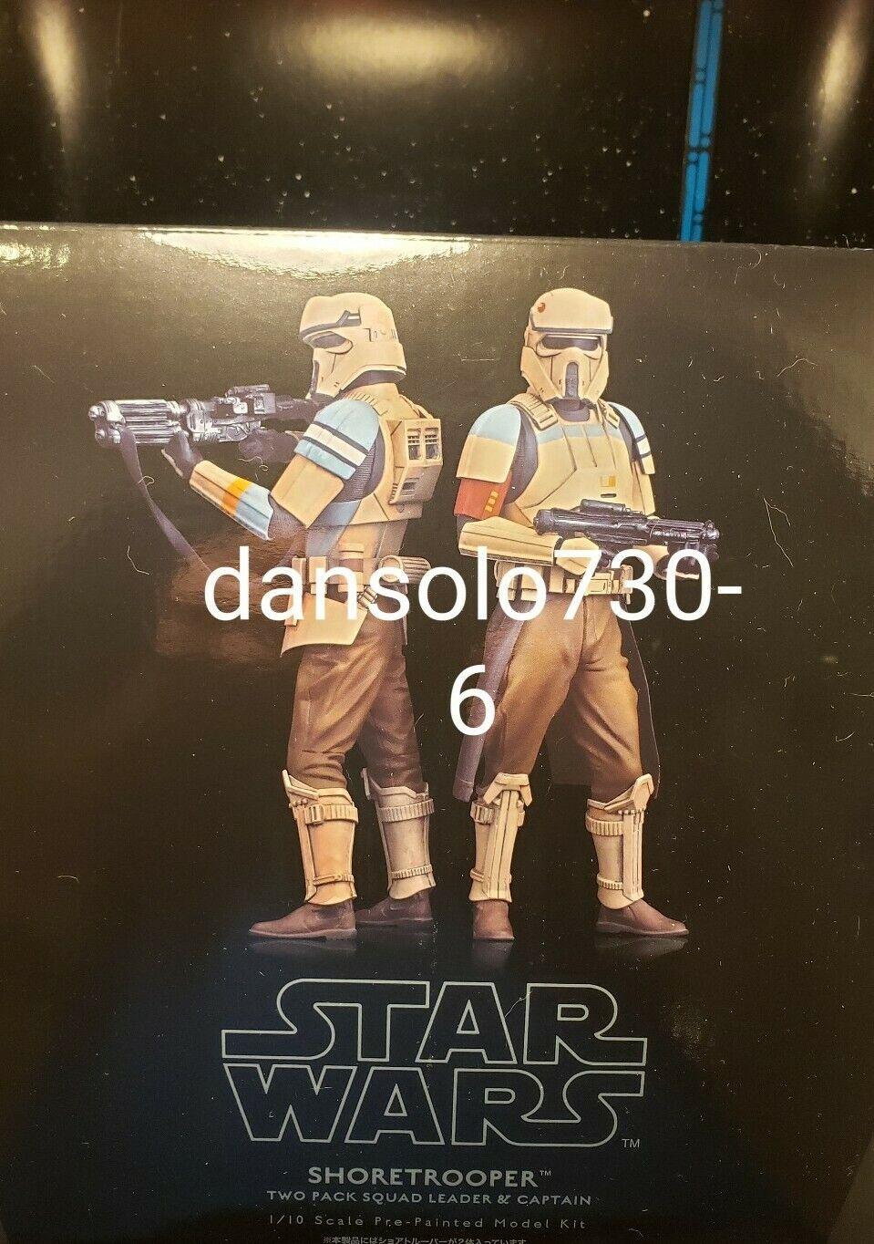 Shoretrooper Squad Leader /& Captain 903221 Star Wars pack 2 statuettes ARTFX