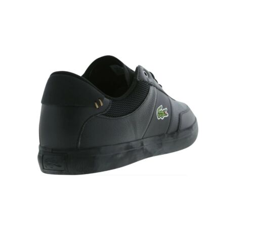 Lacoste Court Master 4171FLE Cam Black Mens Trainer Shoe Size 7.5-10 New