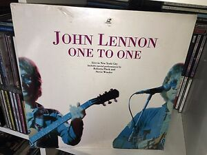 JOHN-LENNON-ONE-TO-ONE-RARE-LASERDISC-1992-SIGILLATO-SEALED