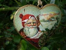Especial danesa Colgante Vintage Navidad Corazón Decoración, Diseño A7