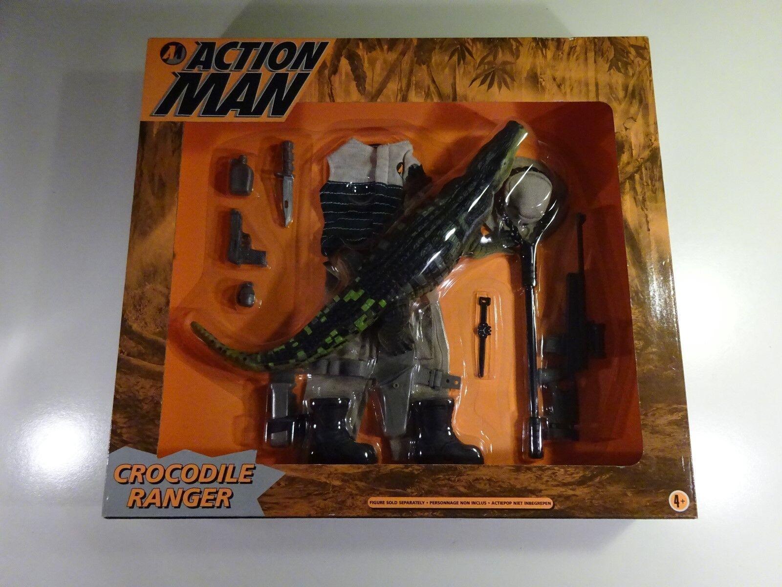 Action Man Crocodile Ranger Vintage Rare From Hasbro