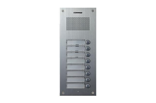 Commax 8 Botones Audio Intercomunicador Puerta Panel DR-8UM