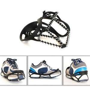 Anti-Slip-Ice-Snow-Spike-Grip-Gripper-Crampon-Cleat-For-Shoe-Boot-Overshoe-IJ