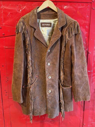 Arturo Fringe Leather Jacket