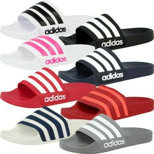 Adidas Adilette Bath Shower Slippers Beach Sandals Slipper Shoes