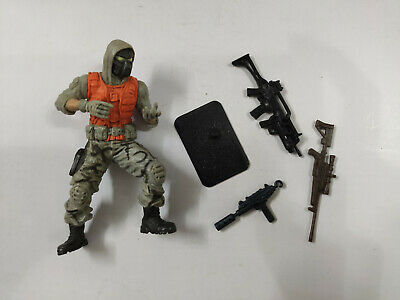 """3.75/"""" GI Joe Action Figure Field Soldier With 4pcs Accessories"""