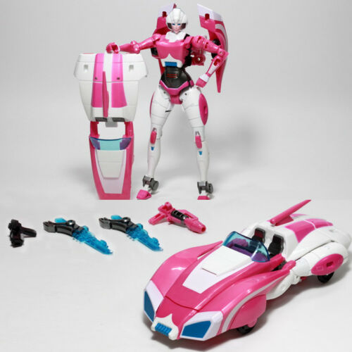 Transformation Arcee G1 Car Robot Force ABS Metal Action Figure Boy Toy Gift