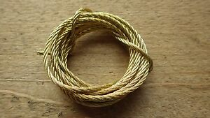 BRASS-PLATED-PICTURE-HANGING-WIRE-MIRROR-HEAVY-DUTY-2-METRES-MULTI-STRAND-10kg