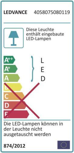 Osram Wandleuchte Deckenleuchte IP44 Lampe LED Sensor Wand Decke Ledvance VDE