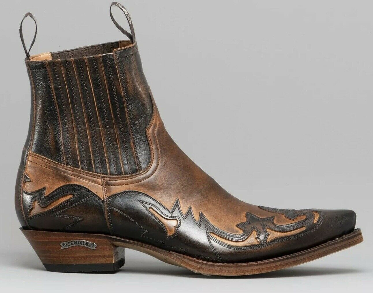 botas SENDRA, 4660, Marrón Antiguo, botas de vaquero, botas, botas motorista occidental, nuevo