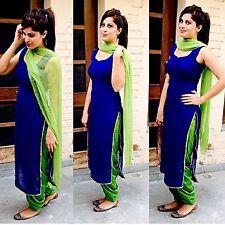 Indian Stylish Designer Punjabi Patiala Suit Salwar Kameez Dress Material Women.