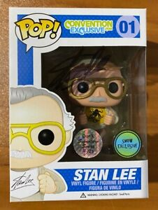 Stan Lee Signed Convention Exclusive Comikaze 4 of 25 01 Funko Pop - JSA BB99128