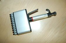 Matrix Pipette Pipet Multichannel 12 Channel 5 50 Ul Variable Volume Micronic