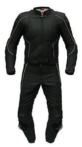 Lederkombi Schwarz Matt von XLS Zweiteiler Langgröße schlanke Größe 98 bis 118