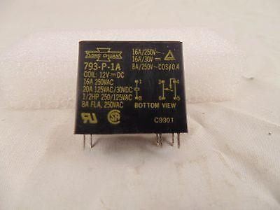 12VDC Relay SONG CHUAN 1PC New 793-P-1A