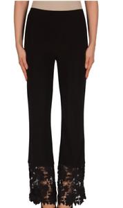 Ribkoff en tricot Nouveau noir avec ourlet Lace 181319 Bootcut soyeux dentelle en Pantalon Joseph soyeux qX68E5xw