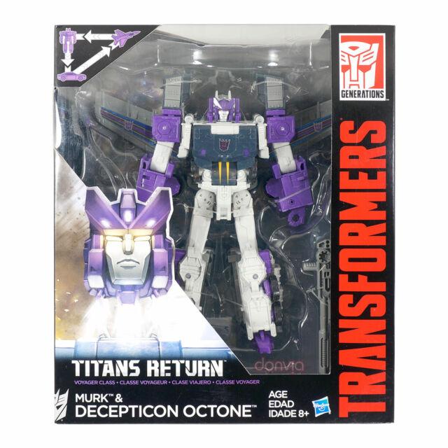 Hasbro Transformers Generations Titans Return Murk & Decepticon Octone