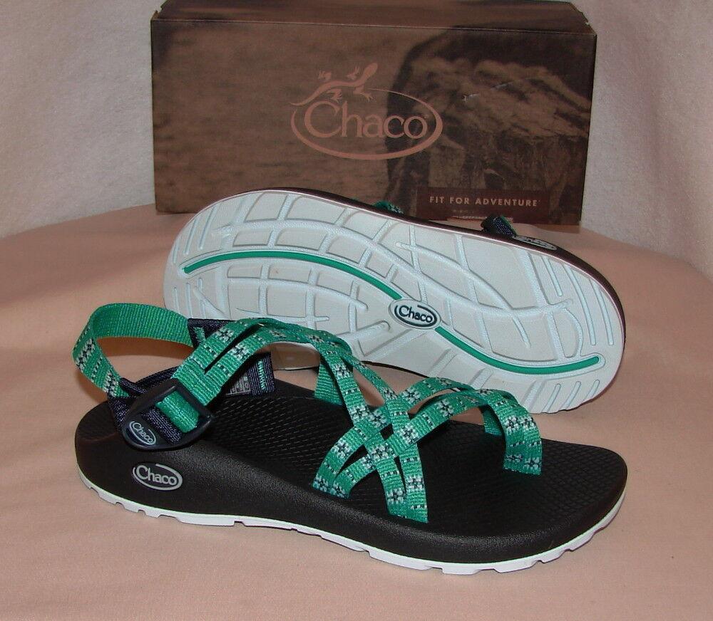 CHACO ZX2 CLASSIC Sport Sandals  Donna 8 M  NIB   ECLIPSE VERDE