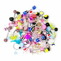 Assorted Multi-use Body Jewelry 60 Pieces