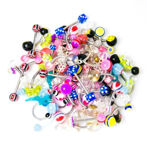 Surtido de Multi-uso 60 piezas de joyería del cuerpo