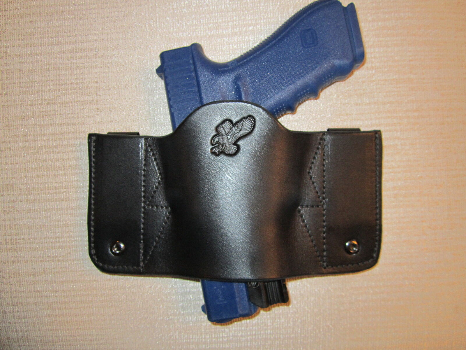 FITS RUGER WITH LASERS,FULLY AMB. & UNIVERSAL FIT, IWB OR OWB, R & L HAND